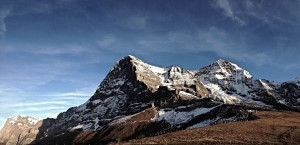 Eiger and Monch from Kliene Schiedegg