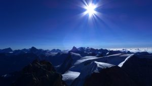 Last summit view from MT Blanc du Cheilion